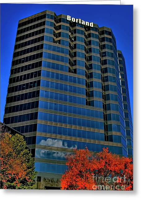 Photographers Conyers Greeting Cards - The Borland Atlanta Greeting Card by Corky Willis Atlanta Photography