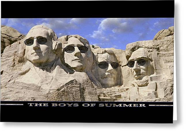 Jefferson Greeting Cards - The Boys Of Summer Greeting Card by Mike McGlothlen