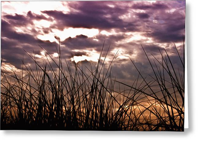 Stormy Weather Digital Greeting Cards - The Brewing Storm Greeting Card by Bill Cannon