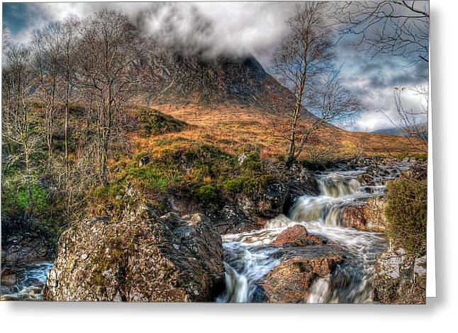 Etive Mor Greeting Cards - The Buachaille Etive Mor Scotland Greeting Card by Amanda Finan