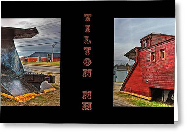 Caboose Photographs Greeting Cards - The Caboose Greeting Card by Joann Vitali