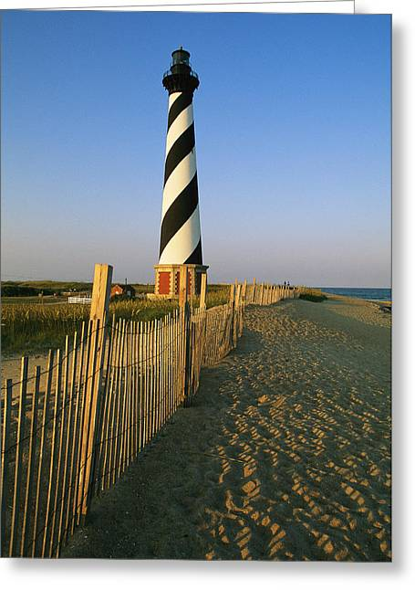 Southern States Greeting Cards - The Cape Hatteras Lighthouse Greeting Card by Steve Winter