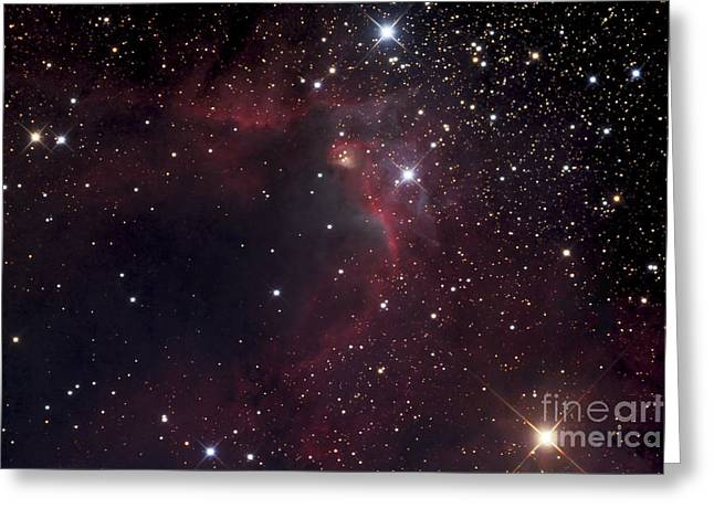 155 Greeting Cards - The Cave Nebula Greeting Card by Robert Gendler