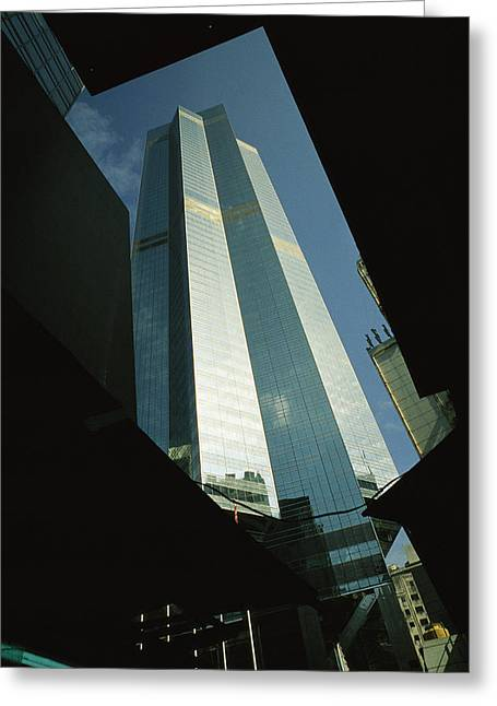 The Centre, A 1135 Foot, 73 Story Greeting Card by Justin Guariglia