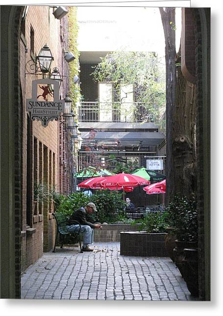 Hidden Corners Greeting Cards - The Charm of Paris Greeting Card by Shawn Hughes