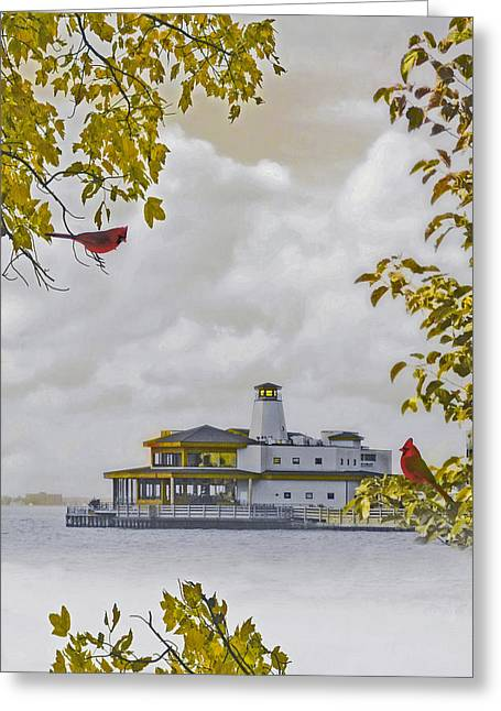 Seascape Prints Greeting Cards - The Chart House  Greeting Card by Tom York Images