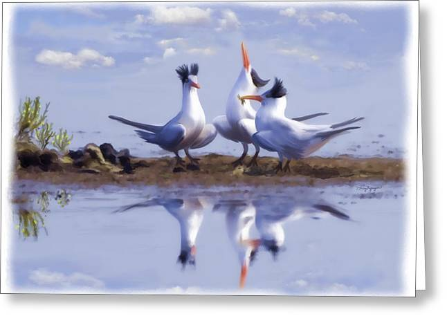 The chorus Greeting Card by Thanh Thuy Nguyen