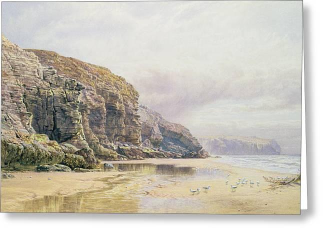 The Coast of Cornwall  Greeting Card by John Mogford