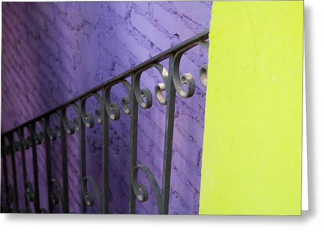 Mexico City Greeting Cards - The Color Purple Greeting Card by Eggers   Photography