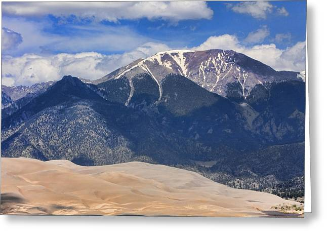 """nature Photography Prints"" Greeting Cards - The Colorado Great Sand Dunes  125 Greeting Card by James BO  Insogna"