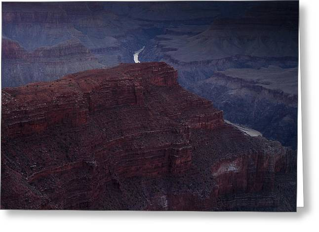 South Rim Greeting Cards - The Colorado River at Hopi Point Greeting Card by Andrew Soundarajan
