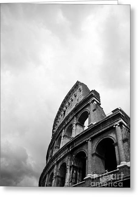 Steven Gray Greeting Cards - The Colosseum in Rome Greeting Card by Steven Gray