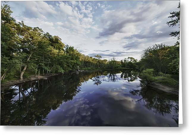 Concord Greeting Cards - The Concord River Greeting Card by Kate Hannon