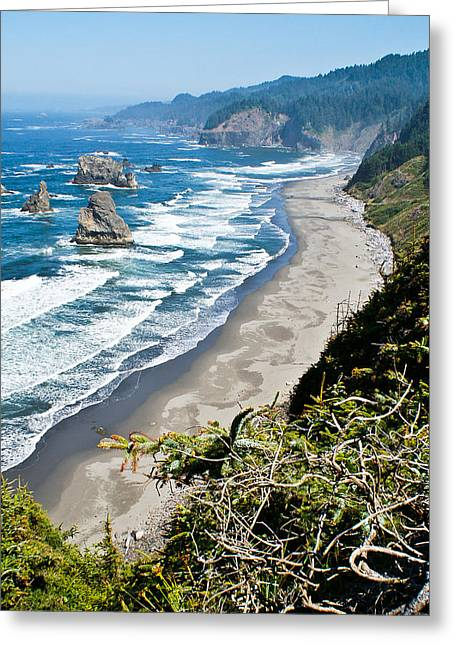 China Beach Greeting Cards - The Creators Sanctuary Greeting Card by Jake Johnson