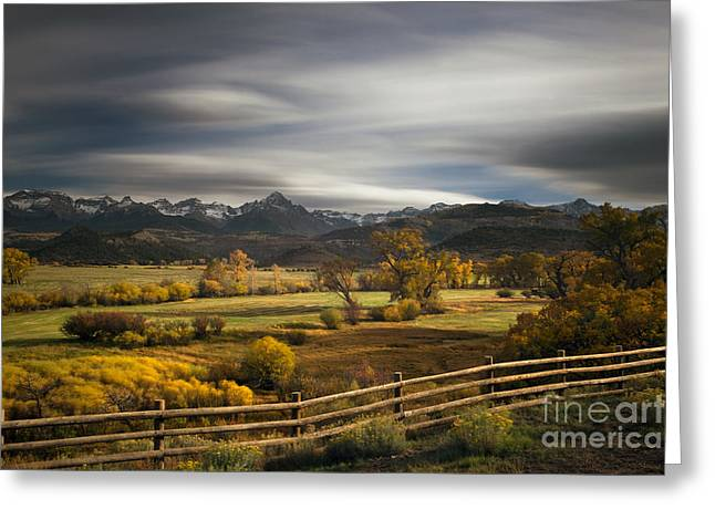 Dallas Photographs Greeting Cards - The Dallas Divide Greeting Card by Keith Kapple