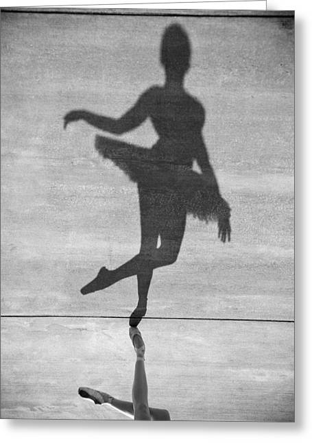 Steven Gray Greeting Cards - The Dancer Greeting Card by Steven Gray