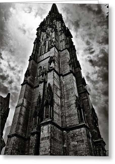 Deutschland Greeting Cards - The Dark Tower Greeting Card by Edward Myers