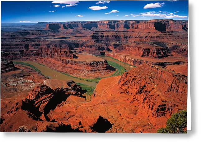 The Dead Horse Point State Park Greeting Card by Daniel Chui