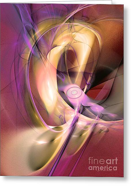 Abstract Expression Greeting Cards - The death of gladiator Greeting Card by Sipo Liimatainen