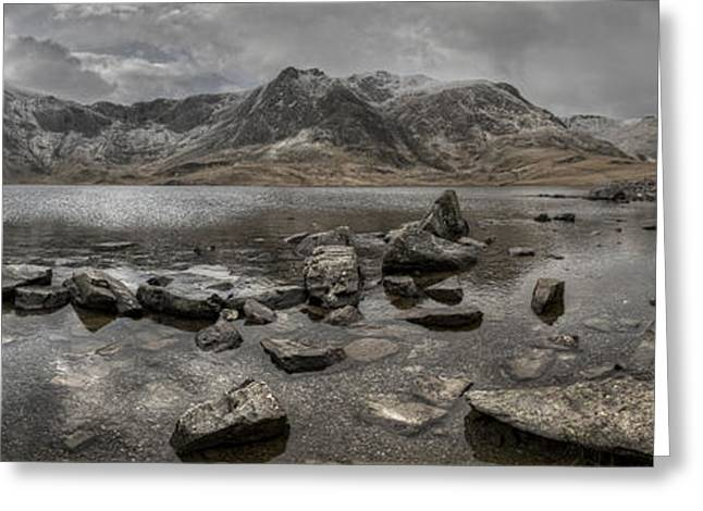 Landscapes Of Wales Greeting Cards - The Devils Kitchen Greeting Card by Andy Astbury