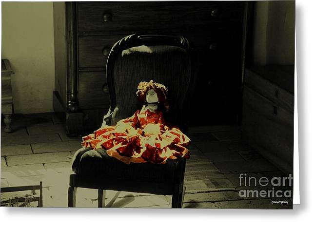 Wall Art For Your Home Greeting Cards - The Doll Greeting Card by Cheryl Young