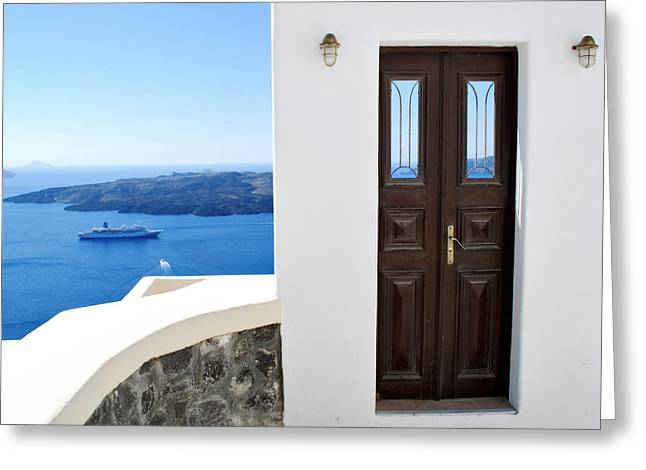 Jeka World Photography Greeting Cards - The Door to Paradise Greeting Card by Jeff Rose