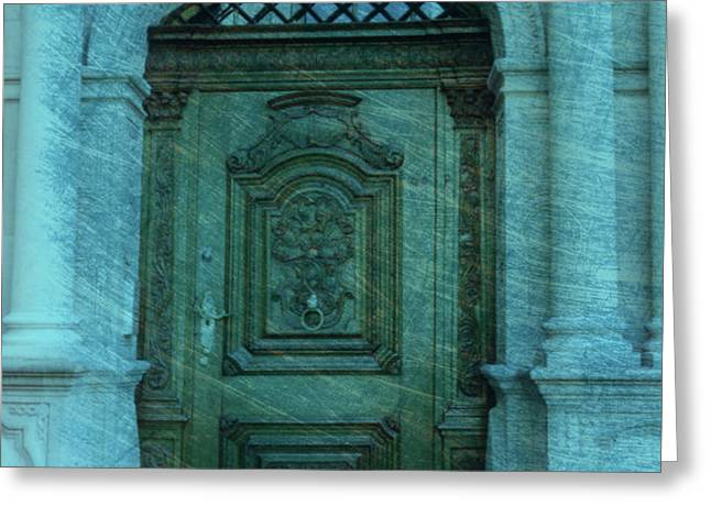 The Door to The Secret Greeting Card by Susanne Van Hulst