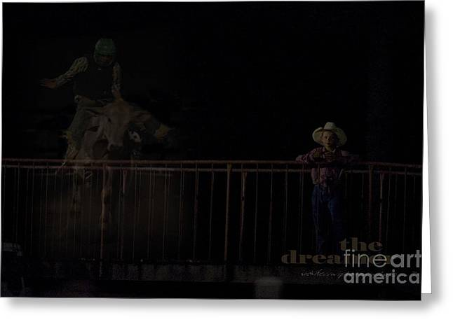 Vicki Greeting Cards - The Dreamer Greeting Card by Vicki Ferrari Photography