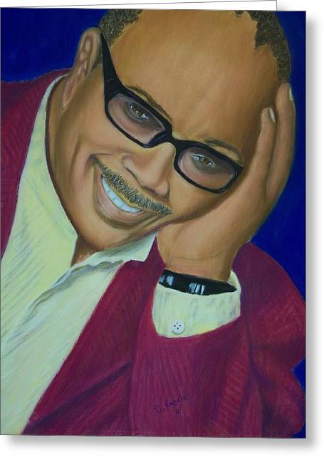African-american Pastels Greeting Cards - The Dude Greeting Card by D Rogale
