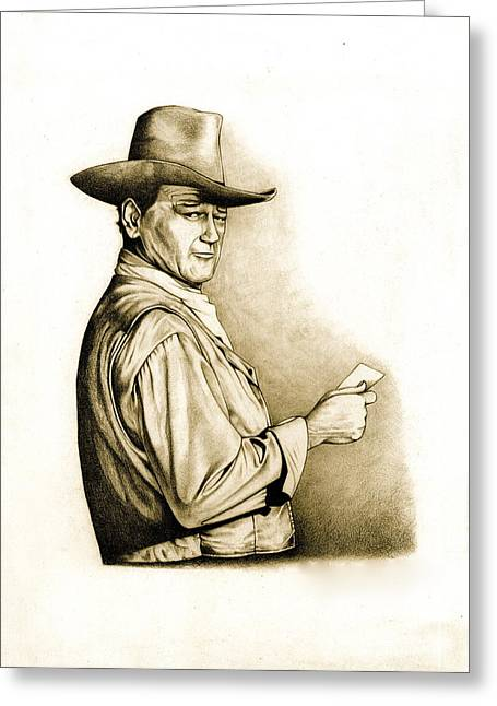 Universities Drawings Greeting Cards - The Duke Greeting Card by Jamie Warkentin