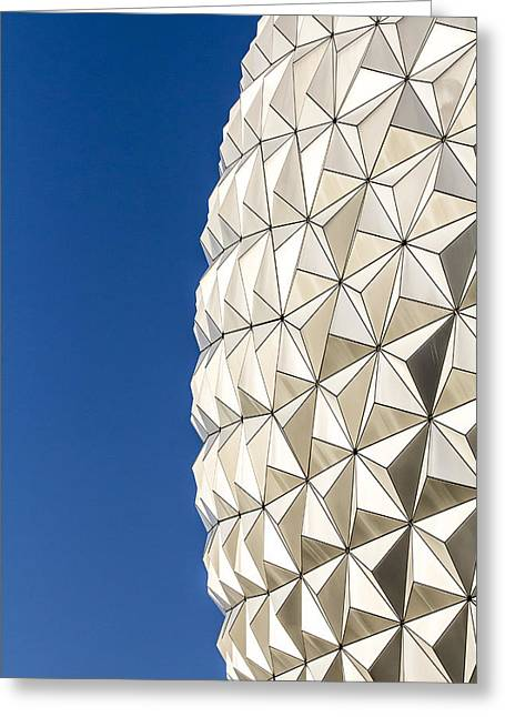 Epcot Center Greeting Cards - The Edge of the Earth Greeting Card by Nicholas Evans