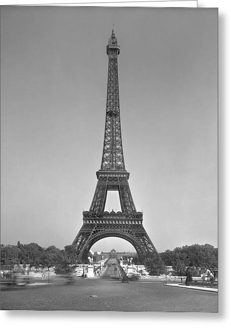 The Trees Greeting Cards - The Eiffel tower Greeting Card by Gustave Eiffel