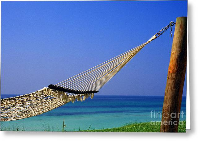 Florida Panhandle Greeting Cards - The Emerald Coast Greeting Card by Thomas R Fletcher