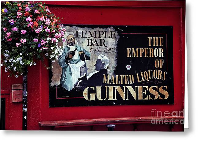Photography Of Liquor Greeting Cards - The Emperor of Malted Liquors Greeting Card by John Rizzuto