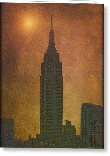 Book Cover Photographs Greeting Cards - The Empire State Building Greeting Card by Tom York Images