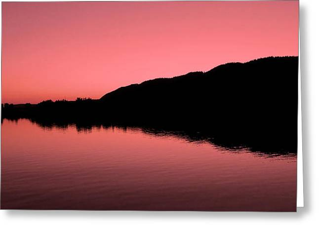 The End Of The Day ... Greeting Card by Juergen Weiss