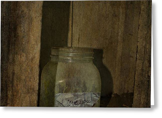 The Endless Jar  Greeting Card by Jerry Cordeiro