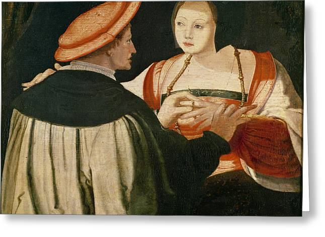 Proposal Greeting Cards - The Engagement Greeting Card by Lucas van Leyden