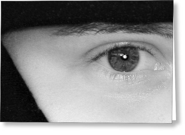 Sell Greeting Cards - The Eyes Have It Greeting Card by Christine Till