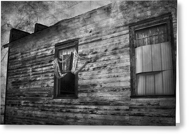 Edmonton Photographer Greeting Cards - The Facade  Greeting Card by Jerry Cordeiro