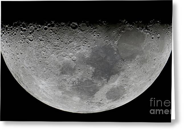 Sea Of Tranquility Greeting Cards - The Feature Known As Lunar-x Visible Greeting Card by Luis Argerich