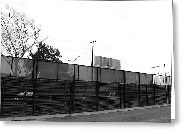 Cbp Greeting Cards - The Fence Greeting Card by Ivan SABO