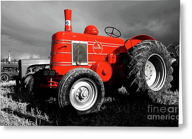 Dorset Greeting Cards - The Field Marshall Greeting Card by Rob Hawkins