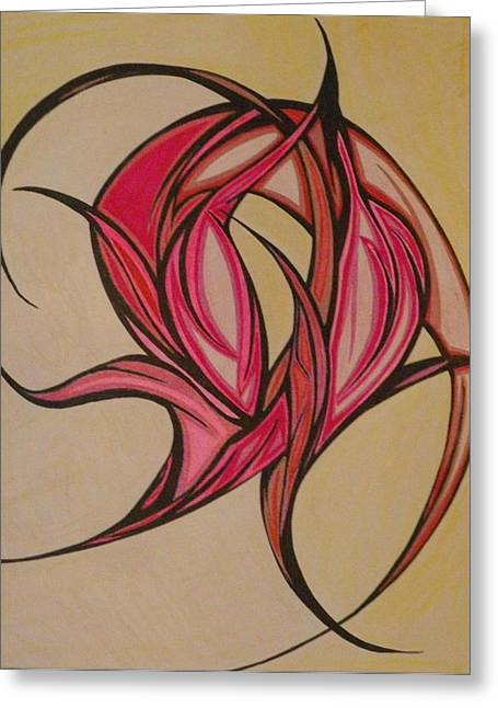 The Flip Greeting Card by Tara Francoise
