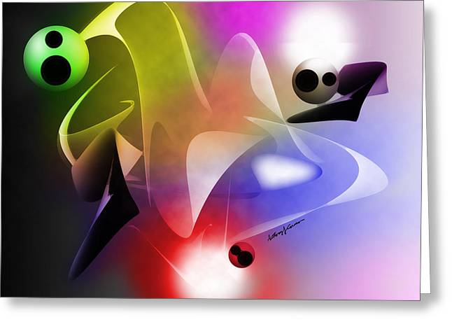 Chromatic Digital Greeting Cards - The Future Greeting Card by Anthony Caruso