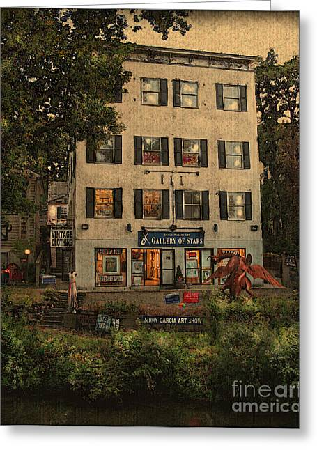 Original Art Photographs Greeting Cards - The Gallery Greeting Card by Colleen Kammerer