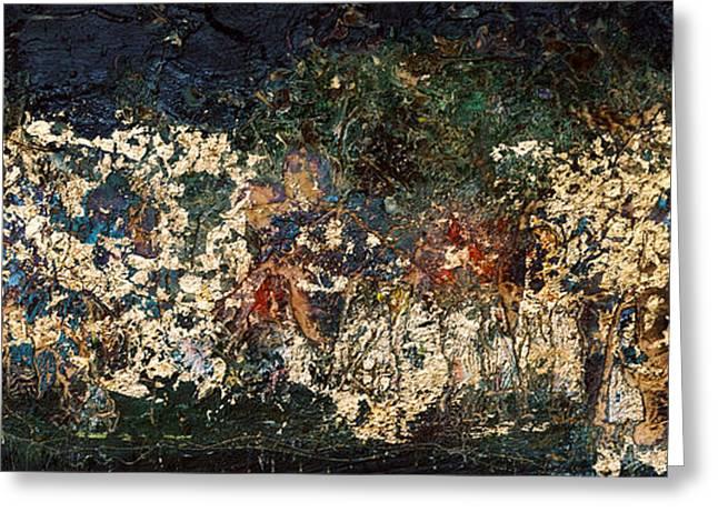 The Garden of Gethsemane Greeting Card by Jonathan E Raddatz