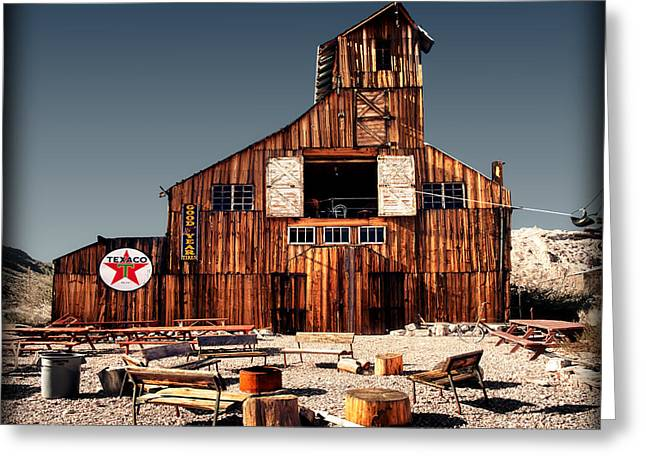Hdr Landscape Greeting Cards - The Gathering Place Greeting Card by Jerry Roberts
