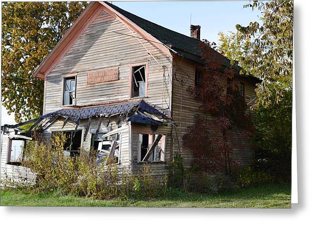 Historic Country Store Greeting Cards - The General Store Greeting Card by Kim Hymes