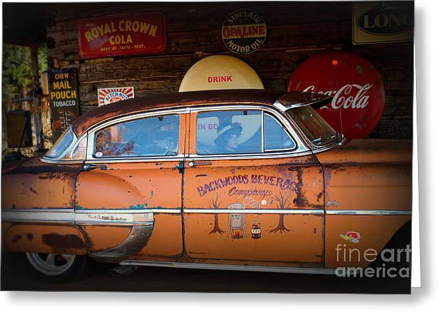 The Getaway Driver Greeting Card by Benanne Stiens
